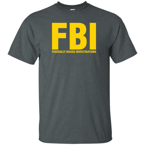 """Federally Biased Investigations"" Unisex Tee"