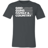 Image of God Guns Family Country Unisex Tee