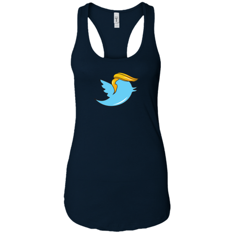"""Trump & Tweet"" Ladies Tank"