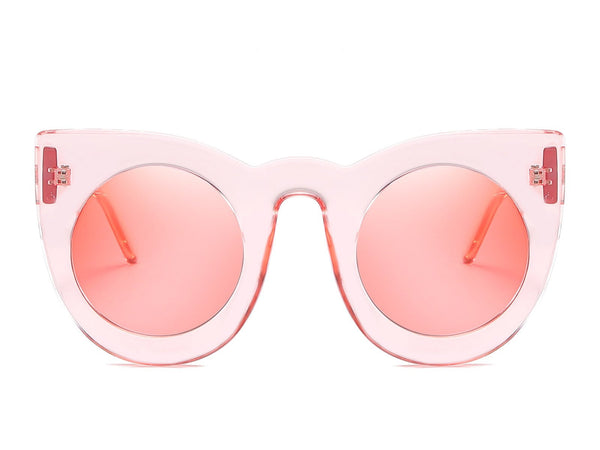 Cadence Cat Eye Solid Sunglasses