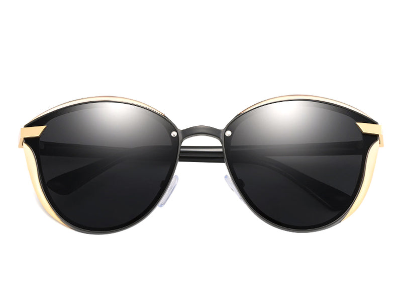 Vintage Polarized Round Sunglasses