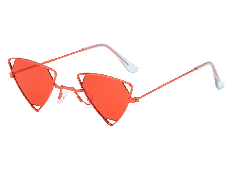 Triangle Hollow-Out Sunglasses