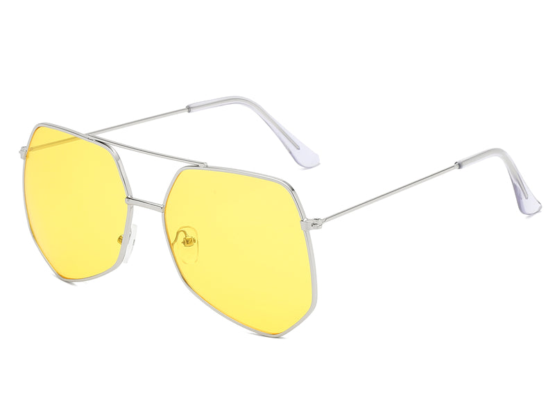 Irregular Polygon Sunglasses