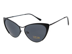 Half Rim Cat Eye Polarized Sunglasses