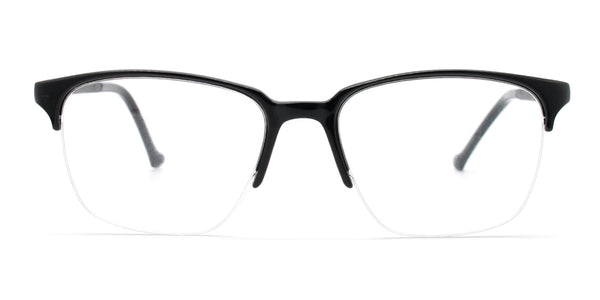 Rectangle Half Rim Glasses