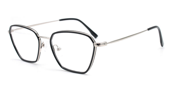 Rectangle Full Rim Glasses