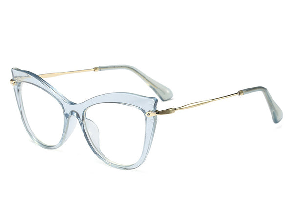 Vintage Cat Eye Full Rim Glasses