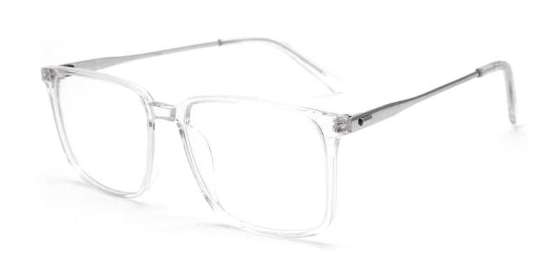 Half Titanium Full Rim Glasses