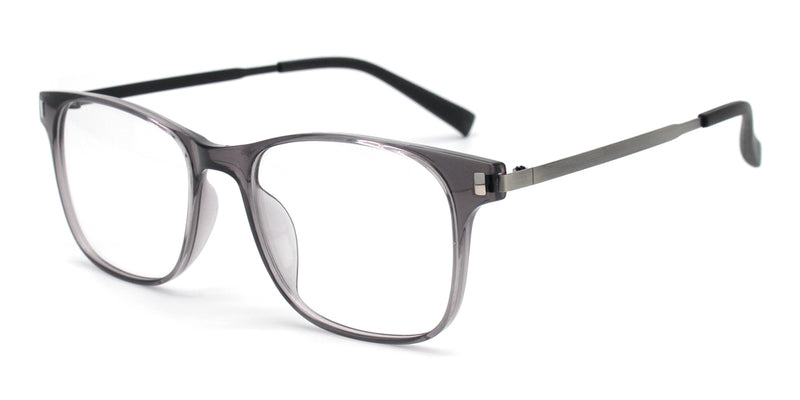 Rectangle Solid Full Rim Glasses