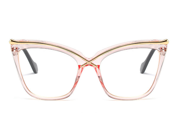 Simple Fashion Transparent Glasses