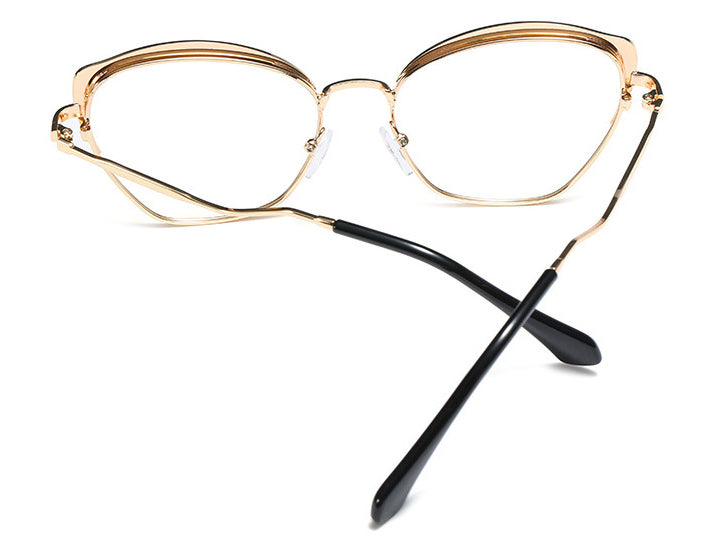 Metal Cat Eye Glasses