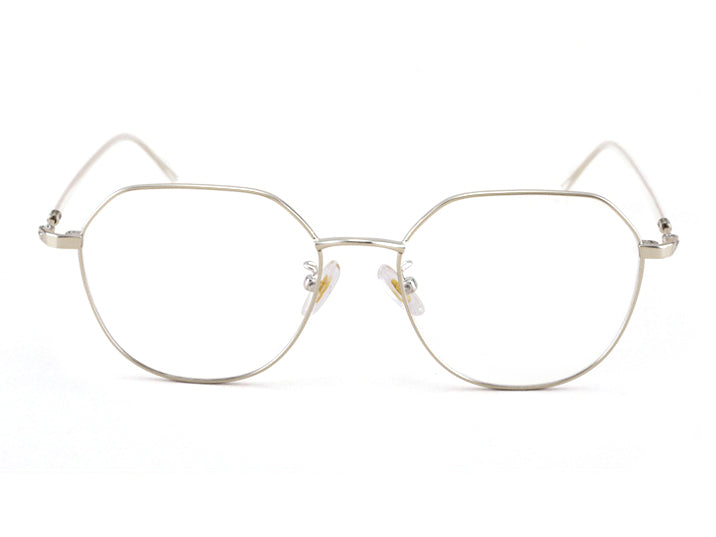 Metal Irregular Polygon Glasses