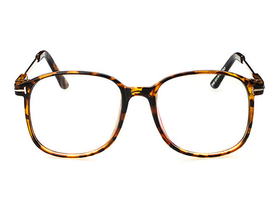 Metal Classic Retro Square Glasses