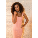 Briana Bandage Dress - Dresses