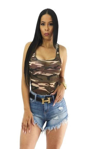 CAN'T GO WRONG CAMO BODYSUIT