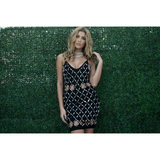 Diamond Noir Dress - Dresses