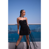 Jasmine Bandage Dress- Black - Dresses