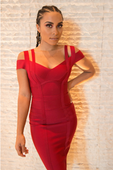 Vanessa Bandage Dress - Dresses
