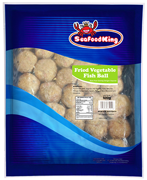 Fried Vegetable Fish Ball