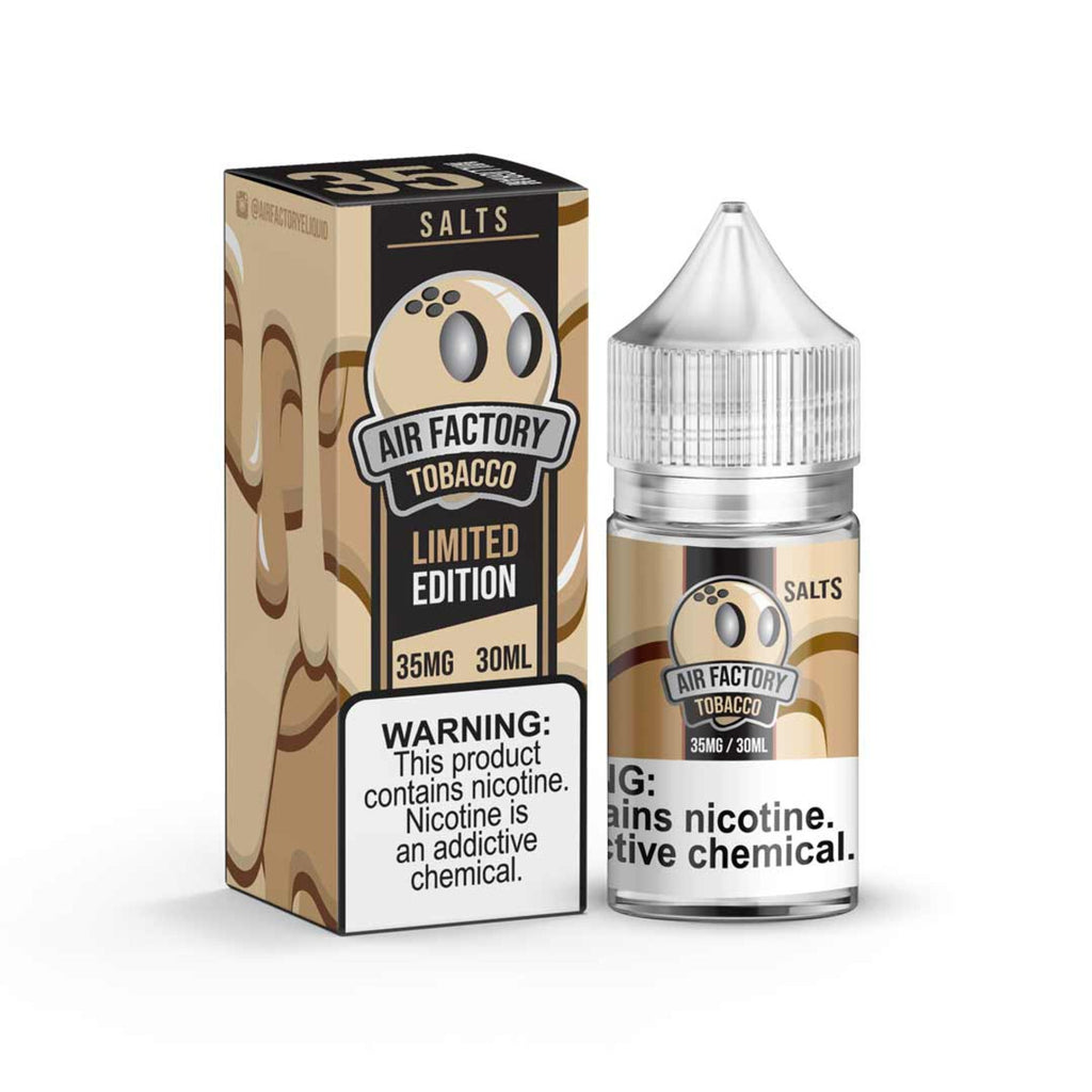 Salt Factory Nicotine Salt E-Juice - 30ml - Limited Edition Salts Tobacco