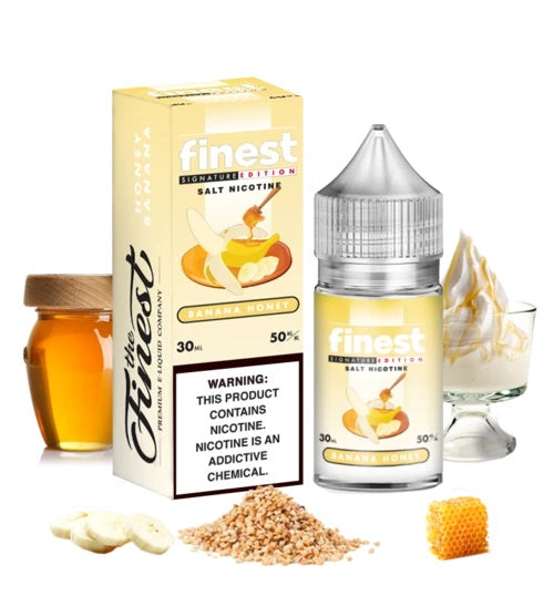 Banana Honey by The Finest E-Liquid Nicotine Salt