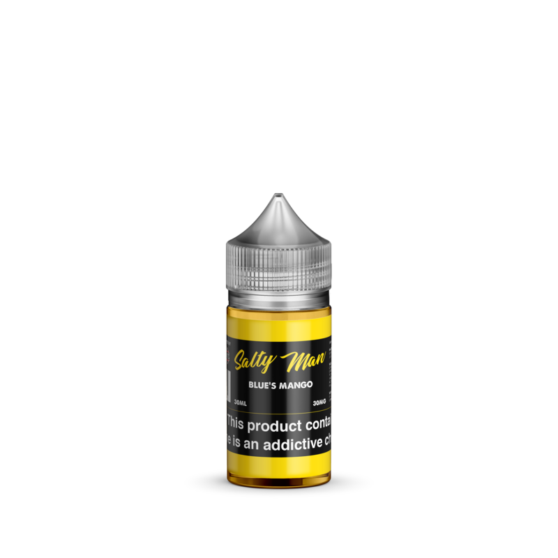 Salty Man Nicotine Salt E-Liquid Line - Blue's Mango