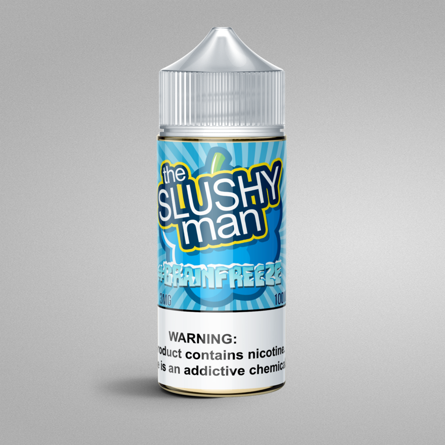 #BRAINFREEZE by The Slushy Man Nicotine | TheNicSalt