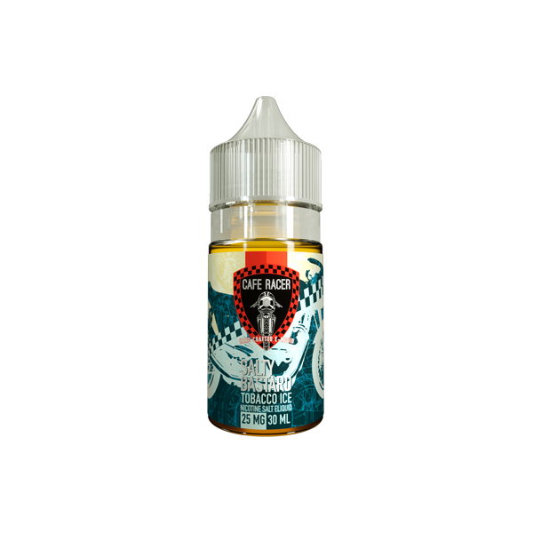 Salty Bastard Nicotine Salt E-Liquid - 30ml - Tobacco Ice