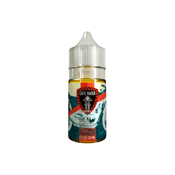 Salty Bastard Nicotine Salt E-Liquid - 30ml - Tobacco