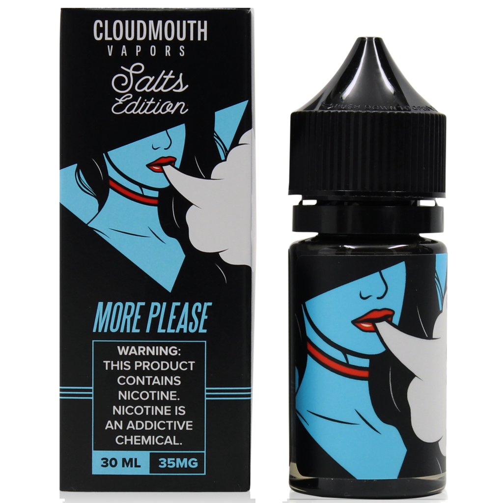 Cloudmouth Vapors Nicotine Salt - 30ml - More Please