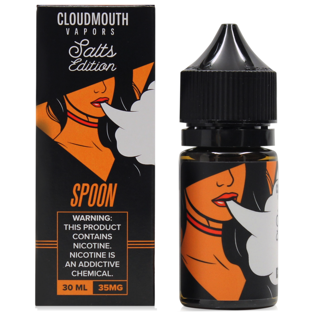 Cloudmouth Vapors Nicotine Salt - 30ml - Spoon