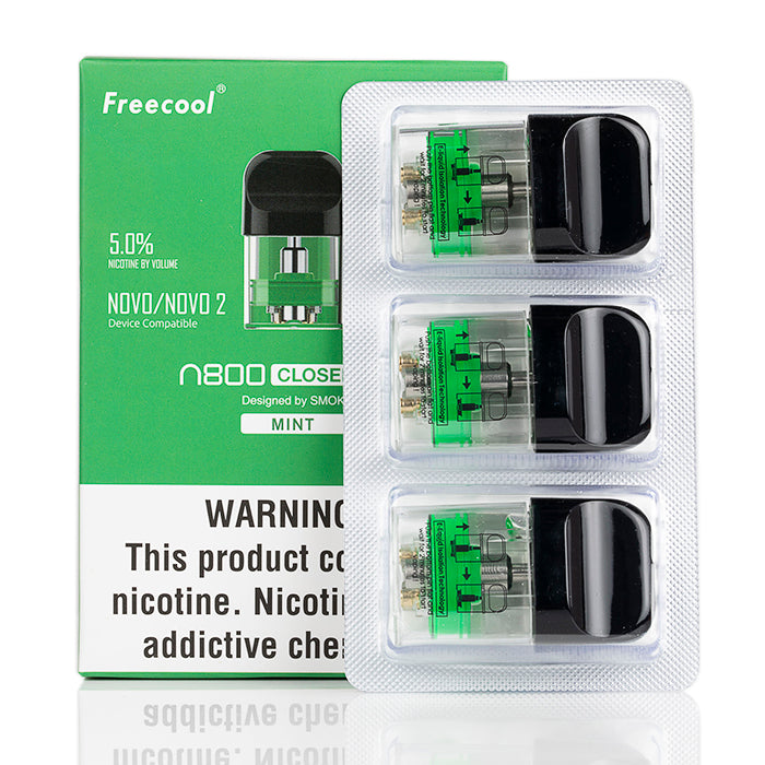 Mint Freecool N800 Replacement Pods