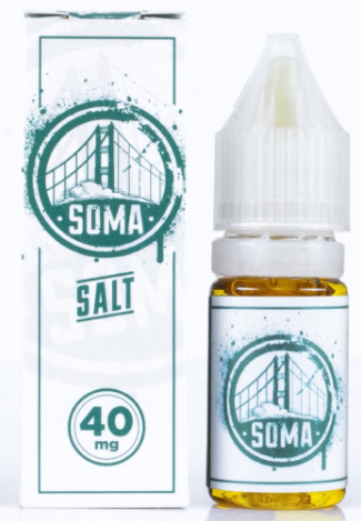 Frisco Vapor Nicotine Salt E-Juice - 10ml - Soma