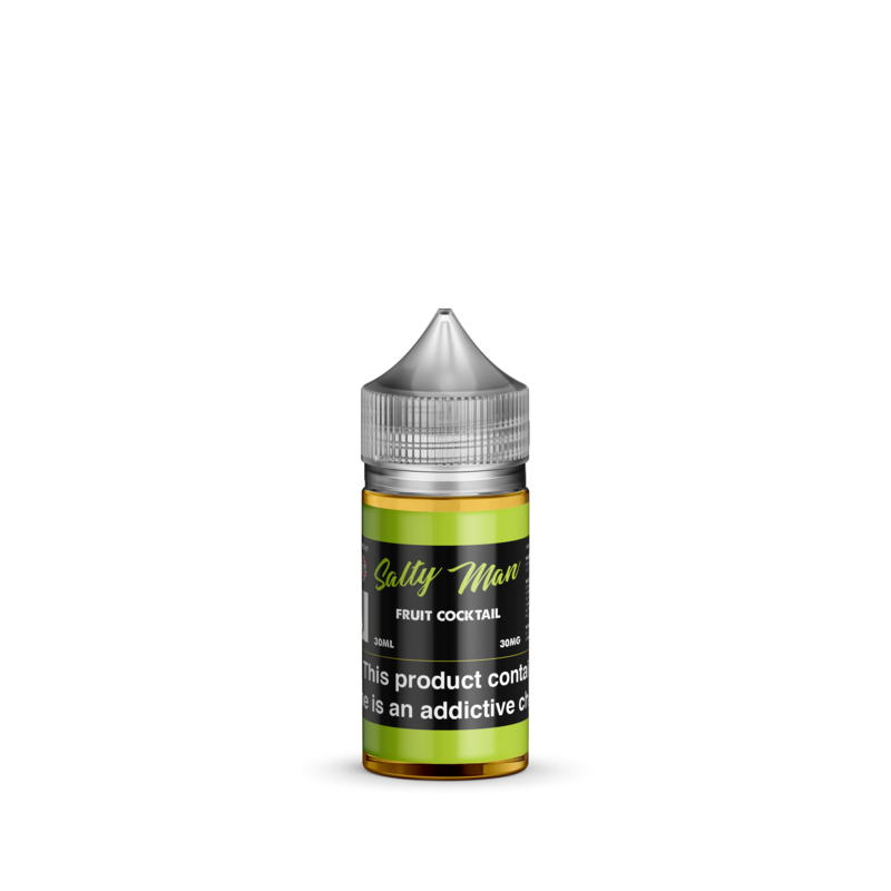 Salty Man Nicotine Salt E-Liquid Line - Fruit Cocktail