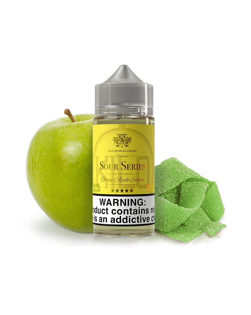 Kilo Sour Series Nicotine 100ml Green Apple Sours