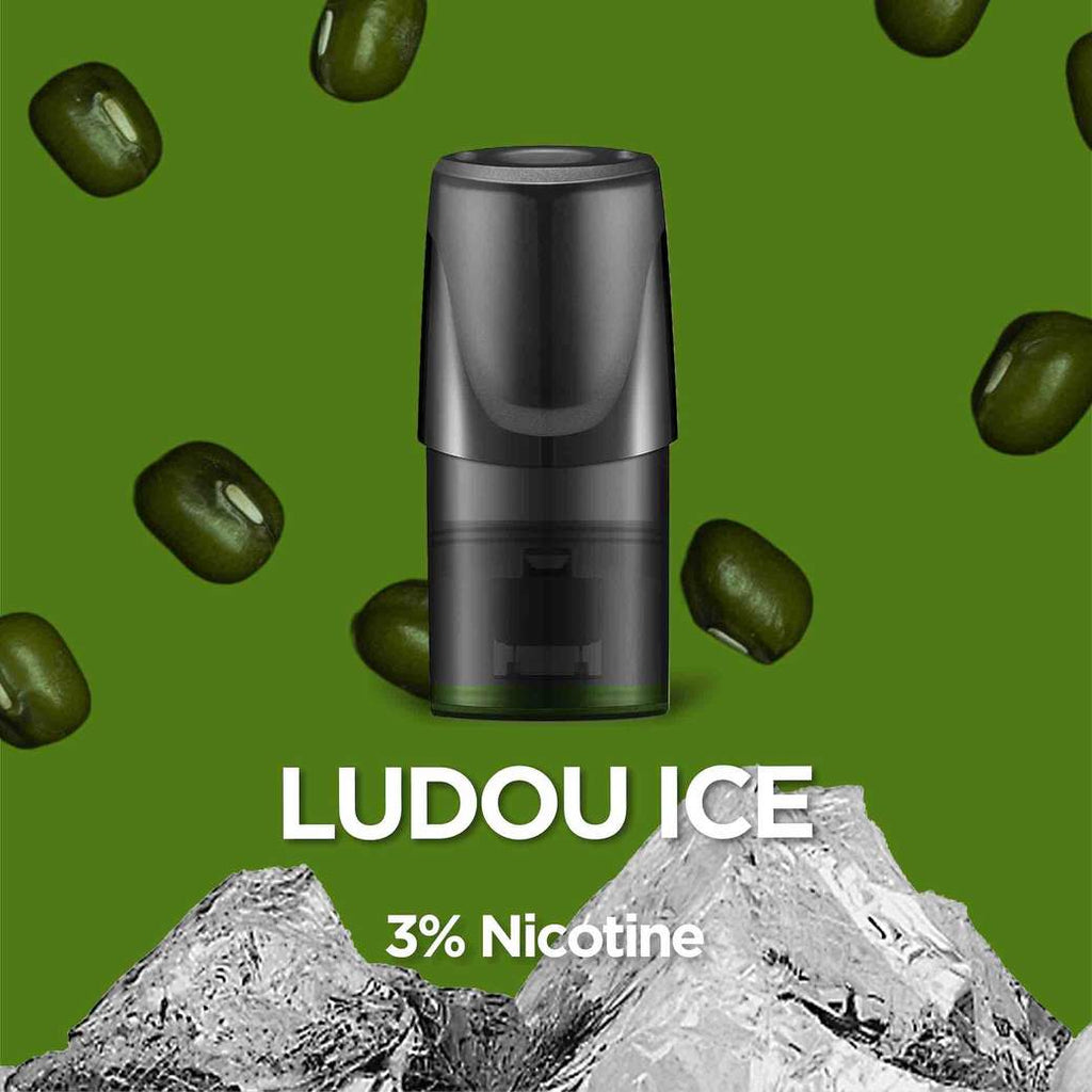 Relx Replacement Pods (Pack of 3) Ludou Ice