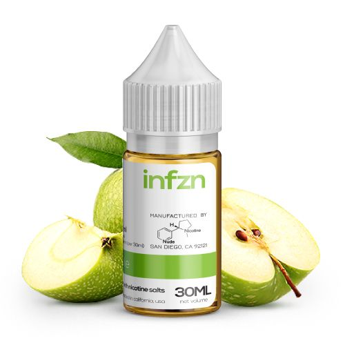 INFZN Nicotine Salt E-Juice - 30ml - Apple