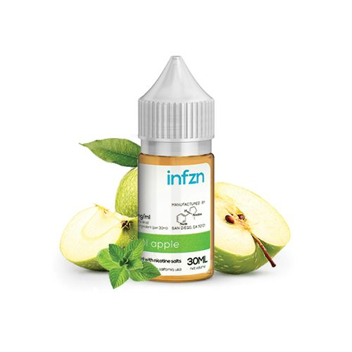 INFZN Nicotine Salt E-Juice - 30ml - Cool Apple