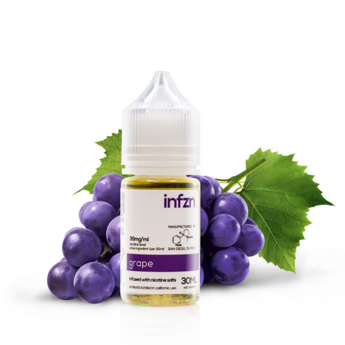 INFZN Nicotine Salt E-Juice - 30ml - Grape