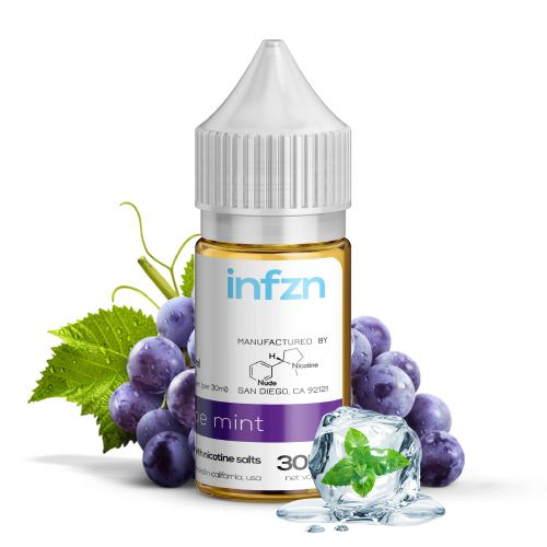 INFZN Nicotine Salt E-Juice - 30ml - Grape Mint