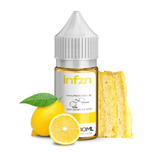 INFZN Nicotine Salt E-Juice - 30ml - Lemon Cake