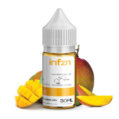INFZN Nicotine Salt E-Juice - 30ml - Mango