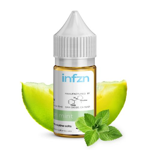 INFZN Nicotine Salt E-Juice - 30ml - Melon Mint
