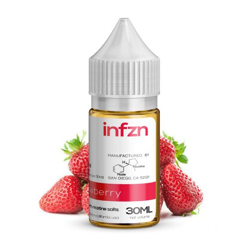 INFZN Nicotine Salt E-Juice - 30ml - Strawberry