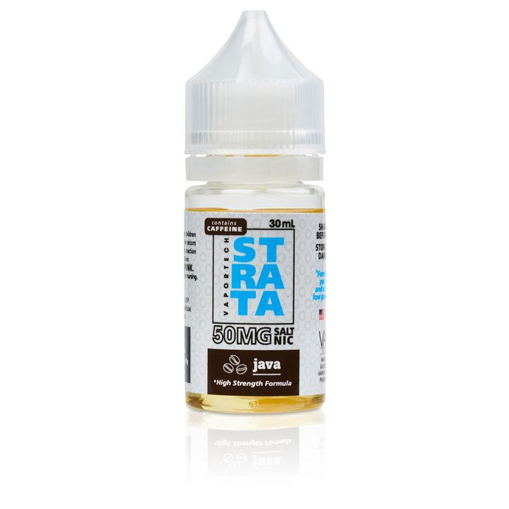 VaporTech Strata Nicotine Salt - 30ml - Java