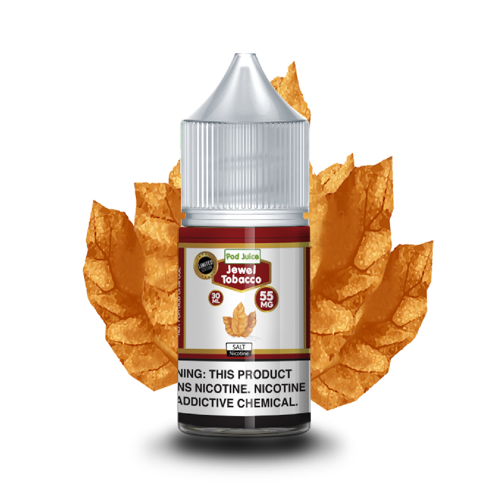 Pod Juice Nicotine Salt E-Juice - 30ml - Jewel Tobacco