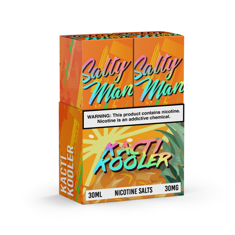 Salty Man Nicotine Salt E-Liquid Line - Kacti Kooler (2 pack)