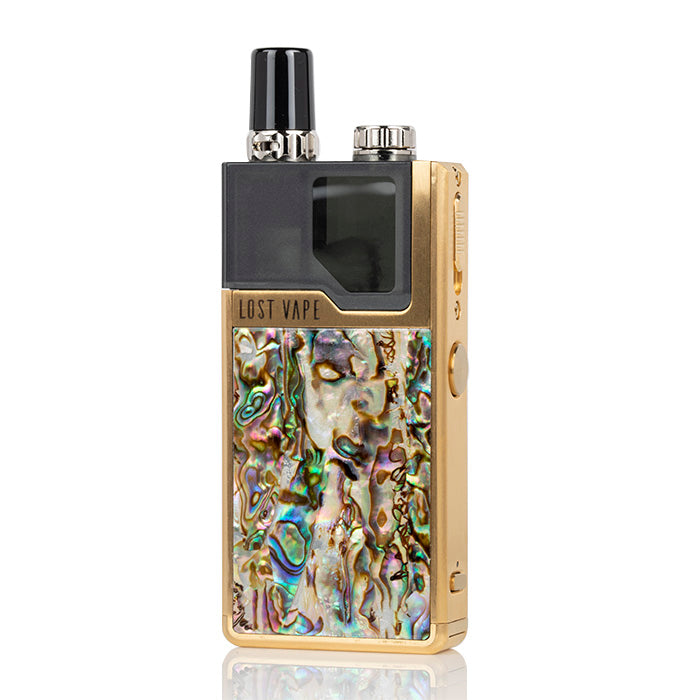 Gold Abalone Lost Vape DNA Nicotine Salt Device