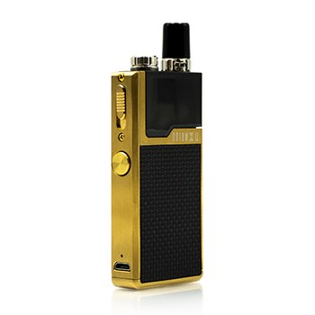 Gold Frame / Black Weave Lost Vape Orion Q