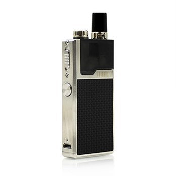 Stainless Steel Frame / Black Weave Lost Vape Orion Q
